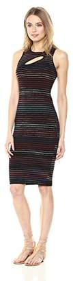 Rachel Roy Women's Sleeveless Cutout Sweater Midi