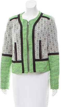 Rebecca Minkoff Structured Contrasted Jacket