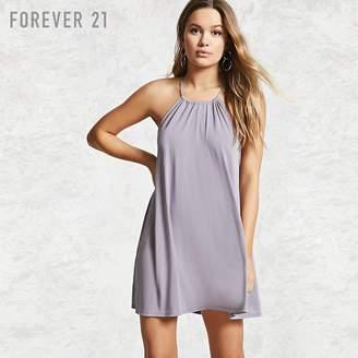 Forever 21 (フォーエバー 21) - Forever 21 トラペーズキャミワンピース