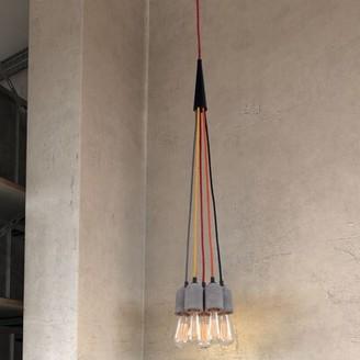 dCOR design Faith 5-Light Cluster Pendant dCOR design