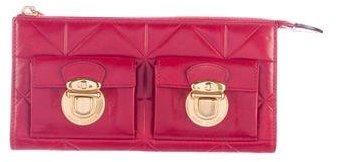 Marc JacobsMarc Jacobs Embossed Leather Wallet