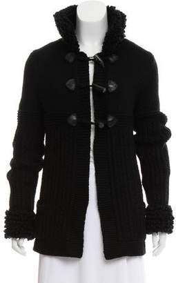 Chanel Toggle Knit Cashmere Cardigan