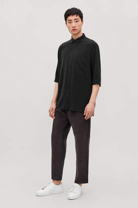 Cos SILK SHIRT WITH SLEEVES