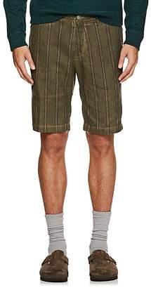 Massimo Alba Men's Striped Linen-Cotton Shorts