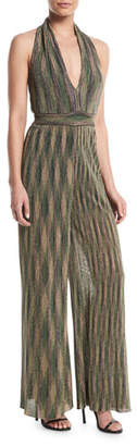 M Missoni Halter Lurex® Wide-Leg Jumpsuit