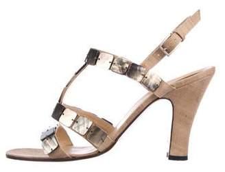 a99ad31c39d99 Bottega Veneta Ankle Strap Women s Sandals - ShopStyle