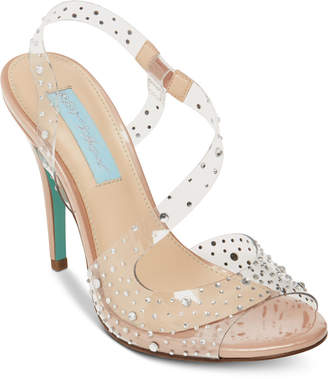Betsey Johnson Blue by Fey Dress Sandals Women Shoes