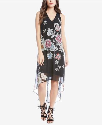 Karen Kane Floral-Print High-Low Dress