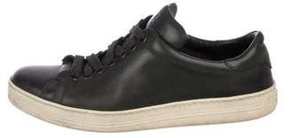 Tom Ford Russel Leather Low-Top Sneakers