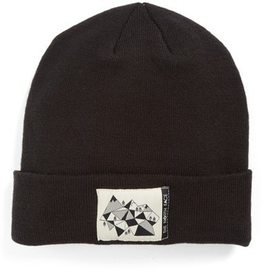 Boy's The North Face Dock Worker Beanie - Black