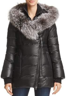 Mackage Elizabeth Fox Fur Trim Down Coat - 100% Exclusive $850 thestylecure.com