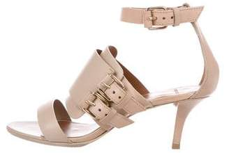 Givenchy Leather Buckled Sandals