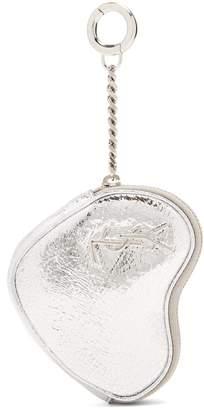 Saint Laurent Love heart-shaped coin purse