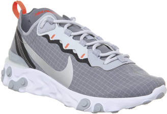 React Element 55 Trainers Cool Grey Pure Platinum White