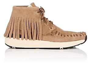 Visvim Men's Yucca Moc Shaman Suede Moccasin Sneakers-Sand