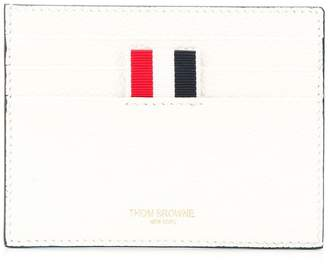 Thom Browne Golf Intarsia Leather Note Cardholder