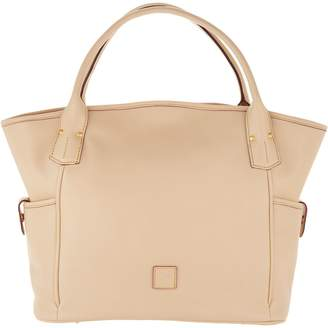 At Qvc Dooney Bourke Florentine Leather Kristen Tote