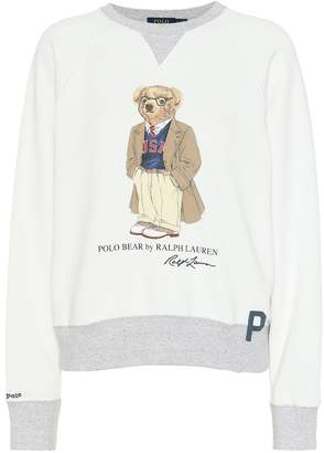 Polo Ralph Lauren Printed stretch-cotton sweatshirt