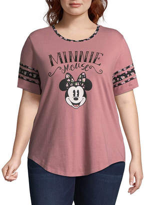 Freeze Minnie Mouse Tee - Juniors Plus