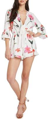 Willow & Clay Floral Romper