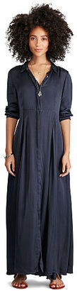 Ralph Lauren Denim & Supply Satin Maxidress $225 thestylecure.com