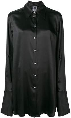 Ann Demeulemeester pointed collar shirt