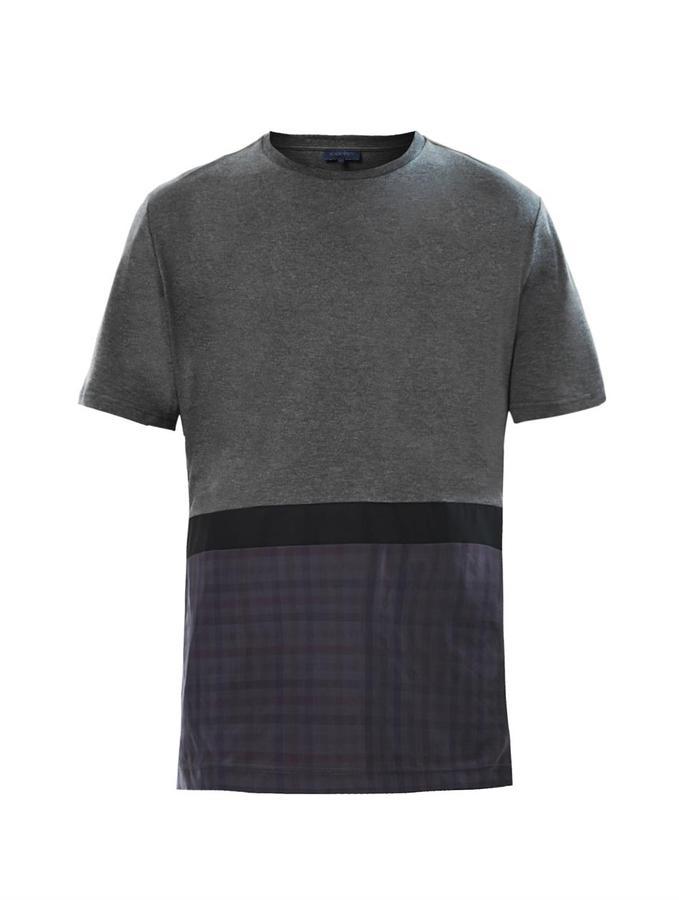 Lanvin Contrast-panel T-shirt