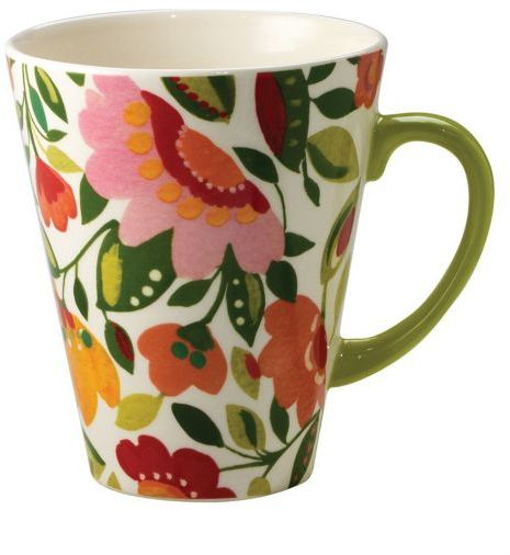 "Kim Parker Home by Spode ""Emma's Garland"" Mug, 11 oz."
