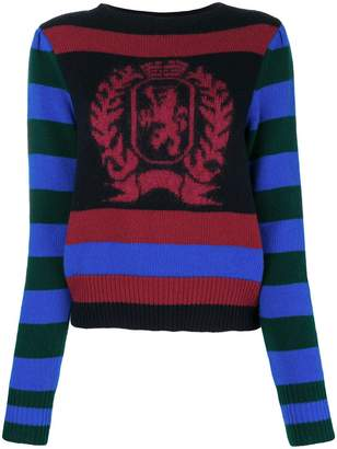Tommy Hilfiger striped logo sweater