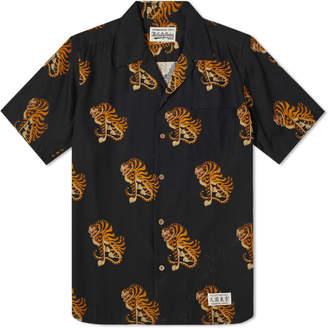 Wacko Maria Short Sleeve Tiger Hawaiian Shirt
