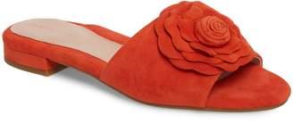 Taryn Rose Violet Flower Slide Sandal