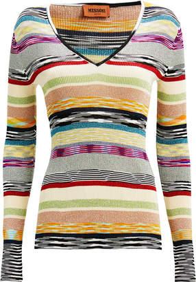 Missoni Lurex Rainbow Stripe Top