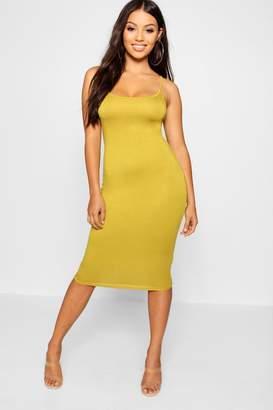boohoo Petite Strappy Bodycon Mini Dress