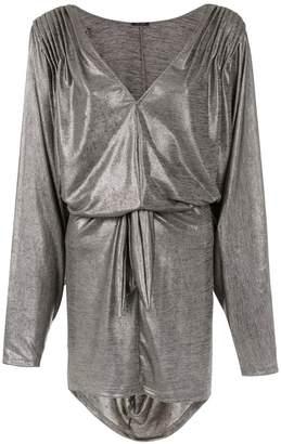 Tufi Duek metallic dress