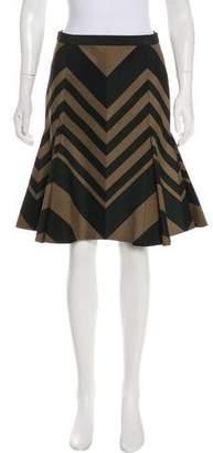 Lanvin Knee-Length Flounce Skirt w/ Tags