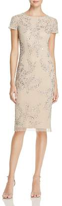Adrianna Papell Embellished Dress $249 thestylecure.com