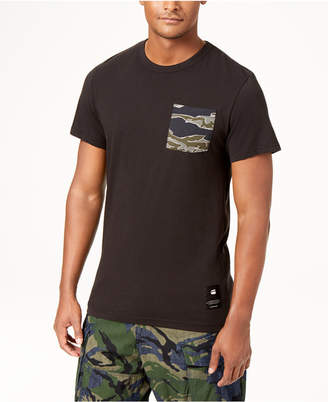 G Star Men's Camo Pocket T-Shirt, Created for Macy's