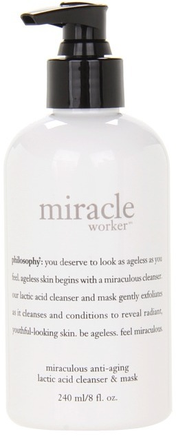 philosophy miracle worker anti-aging lactic acid cleanser and mask (N/A) Skincare Treatment