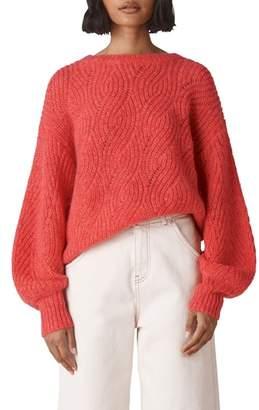 Whistles Sophia Wool Blend Sweater