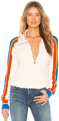 Free People Marshmallow Stripe Sweater