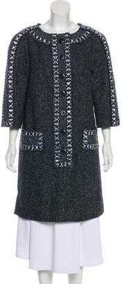 Chanel 2016 Paris-Rome Wool Dress