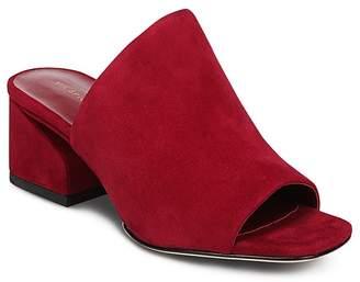 Via Spiga Women's Porter Block Heel Slide Sandals