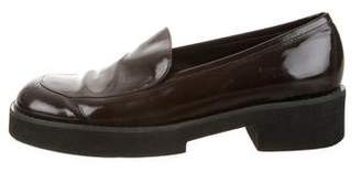 Robert Clergerie Patent Leather Platform Loafers
