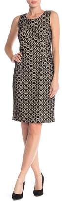 Kasper Lace Patterned Midi Dress