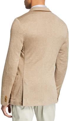 Loro Piana Cashmere-Blend Pique-Knit Jacket