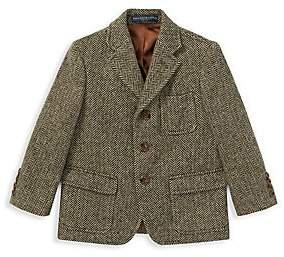 Ralph Lauren Little Boy's& Boy's Princeton Herringbone Jacket