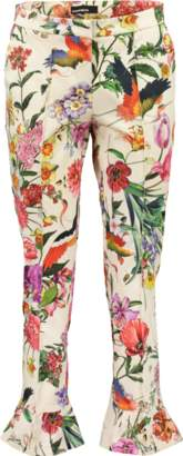 Cambio Florence Floral Print Pant