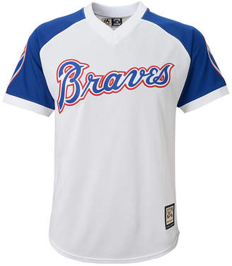 Majestic Atlanta Braves Cooperstown Jersey, Big Boys (8-20) $60 thestylecure.com