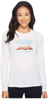 Life is Good Lift Others Bear Long Sleeve Cool Tee Women's Long Sleeve Pullover