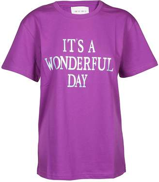 Alberta Ferretti It's A Wonderful Day T-shirt